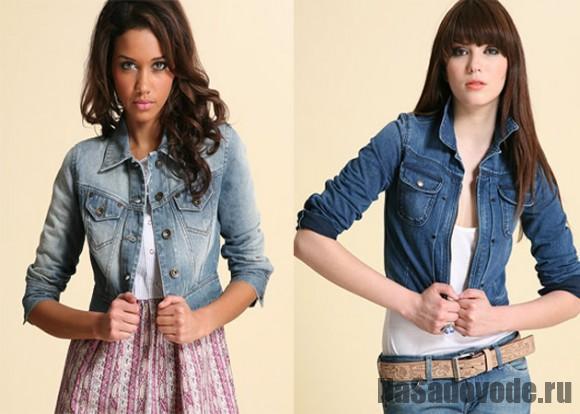 Джинсовые женские куртки