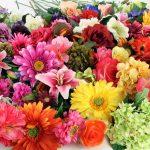 Искусственные цветы на Садоводе